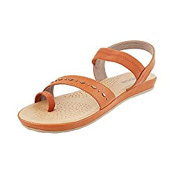 Mochi Women Tan Synthetic (Size Euro38/Uk5 )