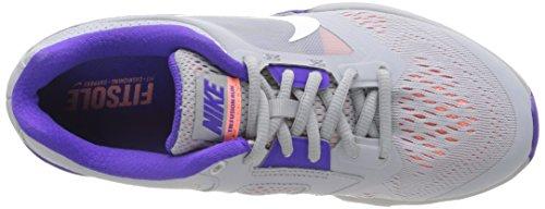 Nike Tri Fusion Run Damen Laufschuhe Grau (Grau;violett)