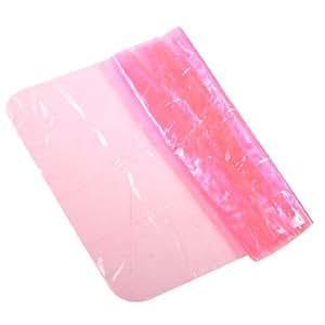 Women Plastic Stretchy Wrap Waist Cincher Shaper Light Pink
