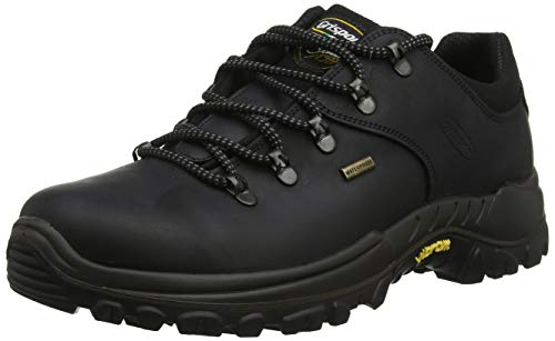 Grisport Men's Dartmoor Hiking Shoe Black CMG477, 43 EU (9 UK)