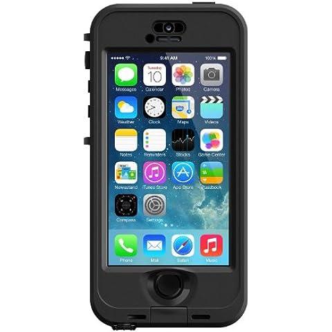 LifeProof Nuud - Funda para Apple iPhone 5/5S, negro