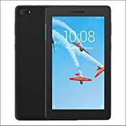 Lenovo TAB E7 TB-7104I Tablet, Meditak 1.3 Ghz, 7 Inch, 8GB, 1GB RAM, Android 7.0, 3G, Slate Black