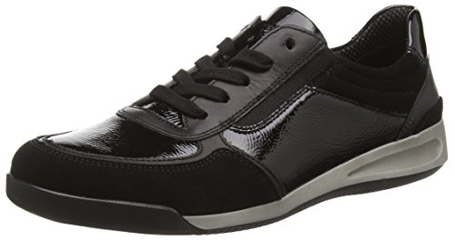 ara  Rom, Sneakers basses femmes Noir - Schwarz (schwarz -06)
