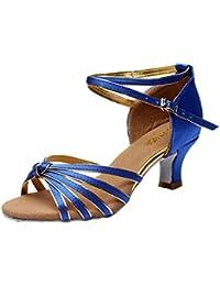 CFP , Damen Tanzschuhe, Blau - blau - Größe: 42