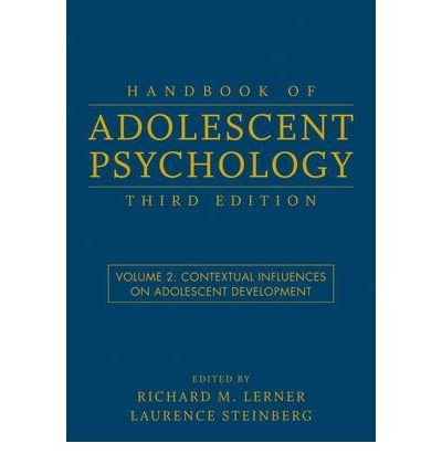 [(Handbook of Adolescent Psychology: Contextual In...