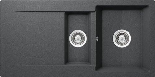 Preisvergleich Produktbild Schock Epure D150 Unterbau in der Farbe Inox, EPUD150UGIN