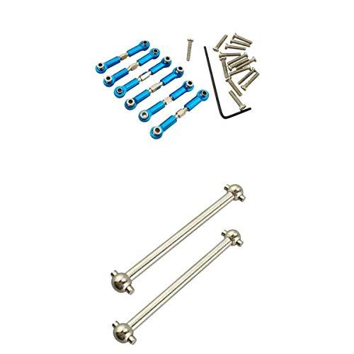 NON MagiDeal Metal Varillas de Tracción y Eje de Transmisión para Wltoys A949 A959 A969 A979