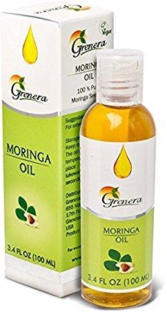 100ml pures Moringa Öl von Grenera®, 100% naturrein zur Heilung-Wundbehandlung-Haarpflege-Hautpflege-Anti-Aging