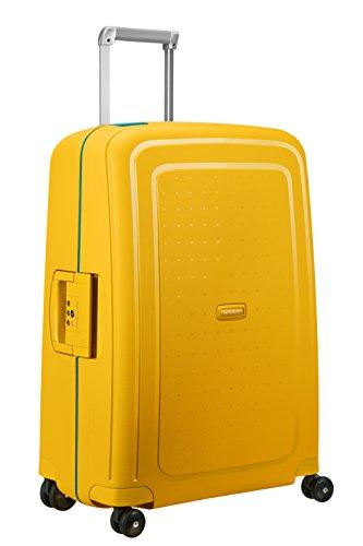 SAMSONITE S'Cure - Spinner 69/25 Bagage cabine, 69 cm, 79 liters,  (Pineapple Yellow/caribb.Bleu)