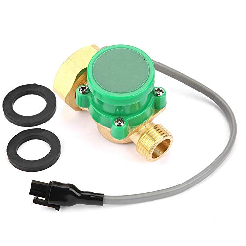 HT-120 Water Pump Flow Sensor Electronic Pressure Automatic Control Switch  for Low Water Pressure Ignition Start-up of Water Heater, Automatic Water