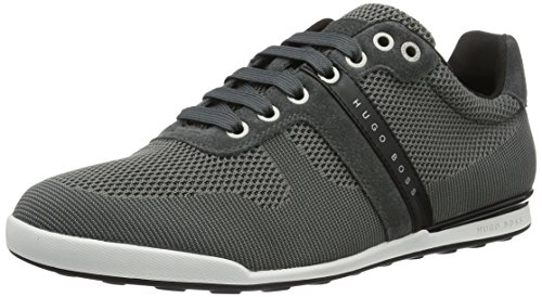 Boss Green Arkansas, Sneakers Basses Homme Gris (Dark Grey 021)
