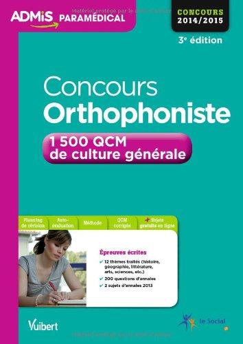 concours-orthophoniste-1500-qcm-de-culture-gnrale-entranement