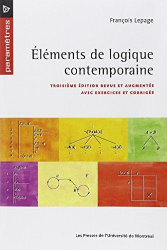 Eléments de logique contemporaine par François Lepage