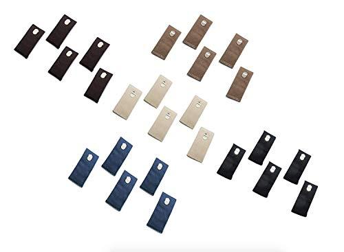 Bund-Verlängerung mit Hakenverschluss, 25er-Pack, gemischte Farben von