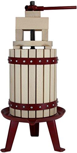Grillplanet Weinpresse Beerenpresse Obstpresse 6 Liter