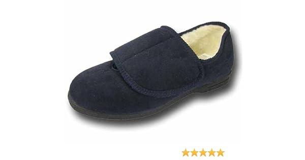 Coolers Chaussons Orthop/édiques Confort Large Fermeture Velcro