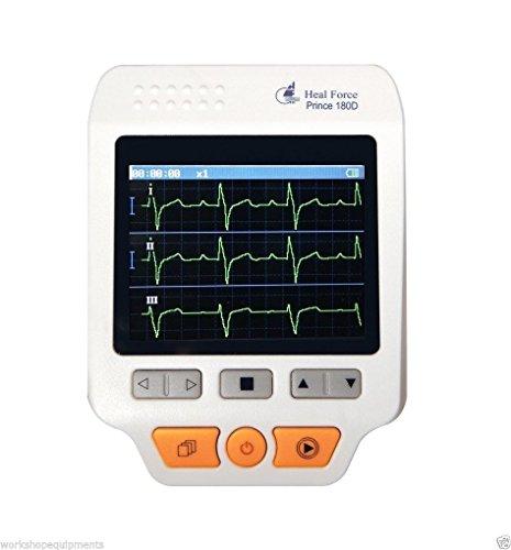 healforce tragbar Herz EKG-Monitor USB Software electrocardiogram electrocardioscanner