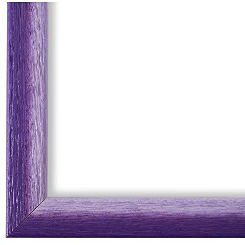 Online Galerie Bingold Bilderrahmen Violett Lila DIN A2 (42,0 x 59,4 cm) cm DINA2(42,0x59,4cm) - Modern, Shabby, Vintage - Alle Größen - handgefertigt in Deutschland - WRF - Pinerolo 2,3