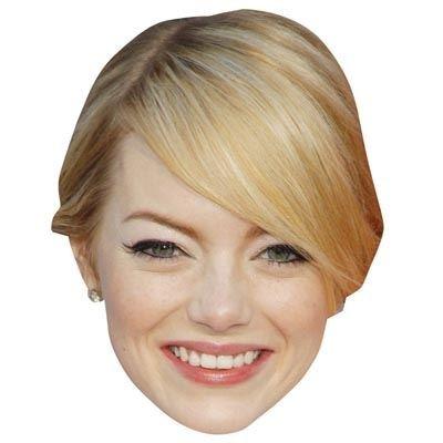 Preisvergleich Produktbild Emma Stone Maske aus Pappe