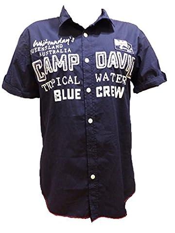 CAMP DAVID HEMD SHIRT FLASH BLUE NAVY CCB-5555-5909-12 L (L)