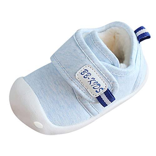 Odjoy-fan-bambino scarpe da di cotone più velluto antiscivolo interno tenere caldo scarpe-sneakers calzature bambini scarpe ginnastica per ragazzi sneakers bimba neonati eleganti bimbi cerimonia