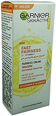 Garnier SkinActive Fast Fairness Day Cream with Vitamin C, Lemon and Yoghurt, 50 ml