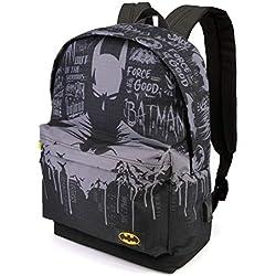 Karactermania Batman Gotham-zaino HS Sac à Dos Loisir, 42 cm, 23 liters, Multicolore (Multicolour)
