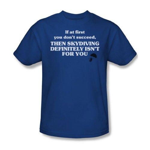 Skydiving Isn'T per te, colore: blu reale, unisex adulto, taglia S/S-T-Shirt da uomo Blu