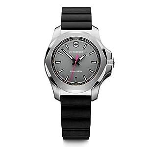 Victorinox Mujer I.N.O.X. V – Reloj de Acero Inoxidable de Cuarzo analógico de fabricación Suiza 241881