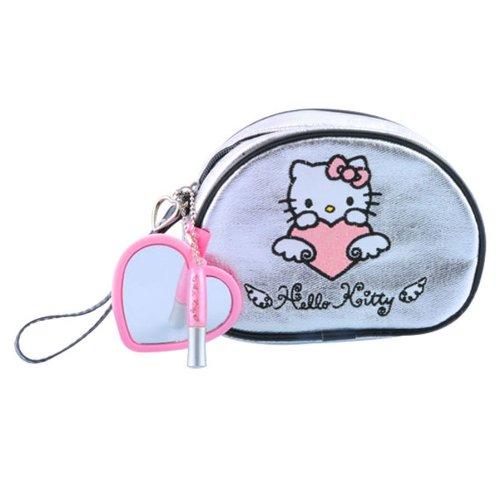 Trousse Fourre Tout Hello Kitty - 2 Pièces de Cosmétiques
