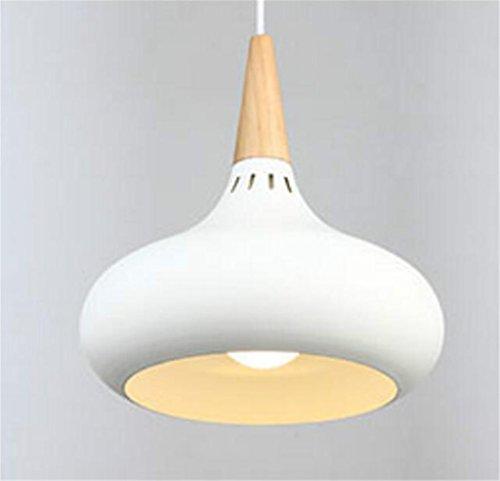Madaye Moderne simple lustre créatif personnalité bois massif table à manger lampe salon chambre à coucher bureau lumière 20*28cm