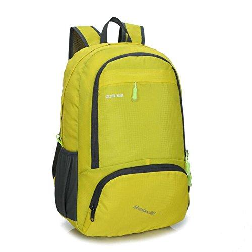 SZH&BEIB Faltbare Außen Rucksack Wasserdichte Nylon 30L für Outdoor Reit Tasche Klettern Wandern Wasser-Beutel E