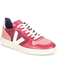 Veja -VXW011683 - Sneaker da Donna Modello V10 Pixel Burgundy Lilas 937679b3eaa