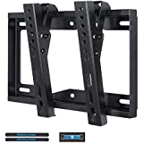Mounting Dream Low Profile TV Wall Mount Tilting Bracket Fits Most 17 To 42 Inches Plasma, OLED, LCD And LED TVs, 20KG Loading Capacity With VESA From 75x75mm To 200x200mm, Bubble Level