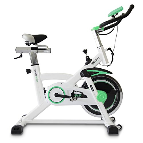 Bicicleta de Spinning Extreme de Cecotec. Uso profesional. Pulsómetro. pantalla LCD, Resistencia...