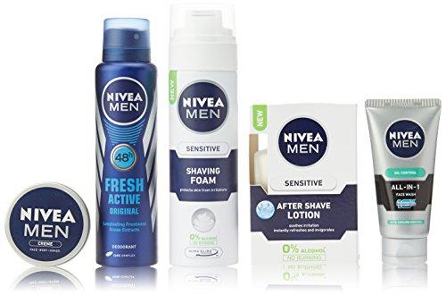 Nivea Men Grooming Kit (Get Kit Bag Free)