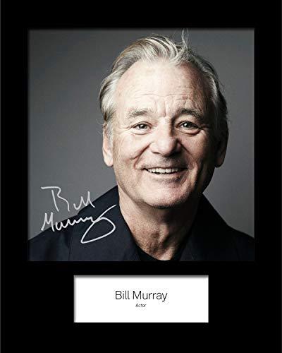 Frame Smart Bill Murray #1 | Signierter Fotodruck | 10x8 Größe passt 10x8 Zoll Rahmen | Maschinenschnitt | Fotoanzeige | Geschenk Sammlerstück
