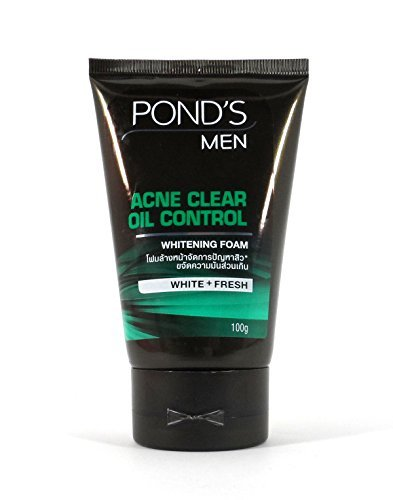 Akne Control Gel Cleanser (Pond 'S Herren Akne Oil Control Whitening Face Wash)