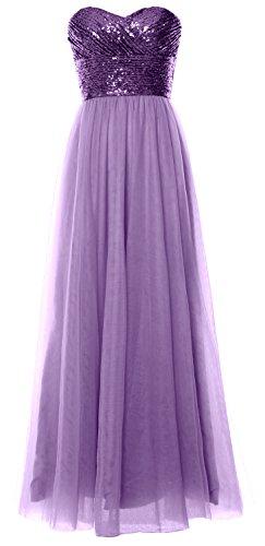 MACloth - Robe - Trapèze - Sans Manche - Femme Purple-Lavender