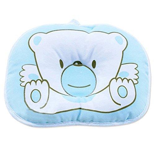 SODIAL(R) Baby Schlaf Baer Stellungsregler Saeugling Unterstuetzung Weich Kissen, blau
