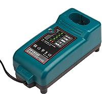 NI-CD & NI-MH Cargador de batería para Makita Cargador DC7100, DC9700, DC18RA, DC18SE, DC1414 Batería 7.2V-18V Reemplazo de la herramienta eléctrica Cargador de batería LaiPuDuo