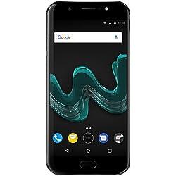 Wiko Wim Black Edition Spéciale Amazon Smartphone débloqué 4G (Ecran: 5.5 Pouces FHD Amoled- 64 Go - NFC- Double Sim-Android 7.0)