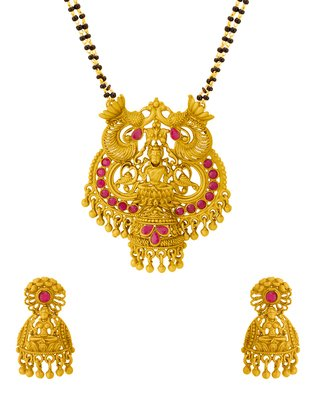 Voylla Gold Plated Jewellery Set for Women (8907617432557)