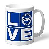 Brighton & HOVE ALBION Offizielles Personalisierter FC Love Becher - Gratis Personalisierung