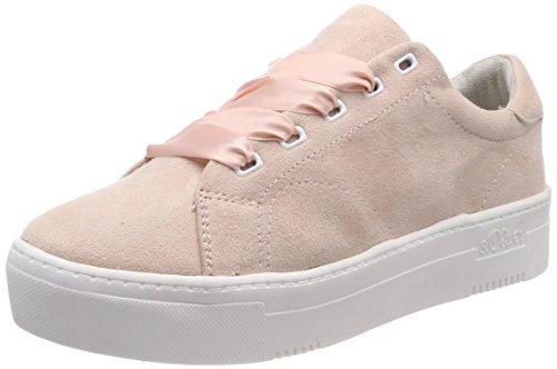 s.Oliver Damen 23632 Sneaker, pink (rose), 38 EU