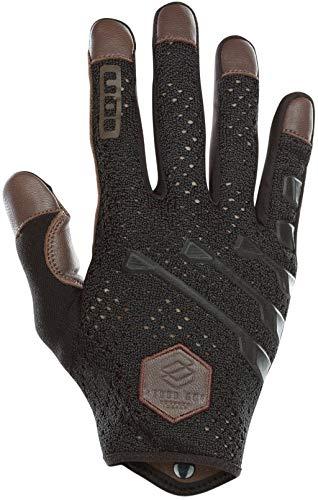 Ion Scrub Select MX DH FR Fahrrad Handschuhe lang braun/schwarz 2019: Größe: S