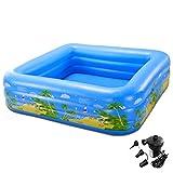 ying Tragbare Falten Aufblasbare Pool für Kinder Große Raum Familie