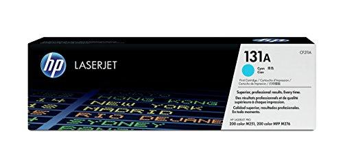 HP 131A (CF211A) Blau Original Toner für HP LaserJet Pro 200 Color M251n, MFP M276 (Hp Laserjet Toner M251nw)