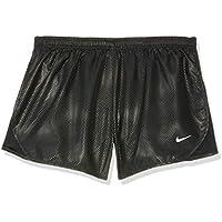 Nike Tempo Shine Pantalones Cortos, Niñas, Blanco/Negro, Extra-Large
