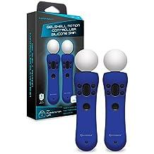 Hyperkin - Gelshell Controller Piel de silicona para PS VR/ PS Move/ PS4 (Azul) (2-Pack)